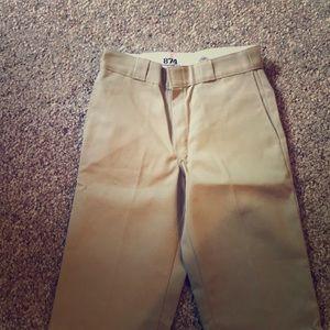 Dickies tan work pants